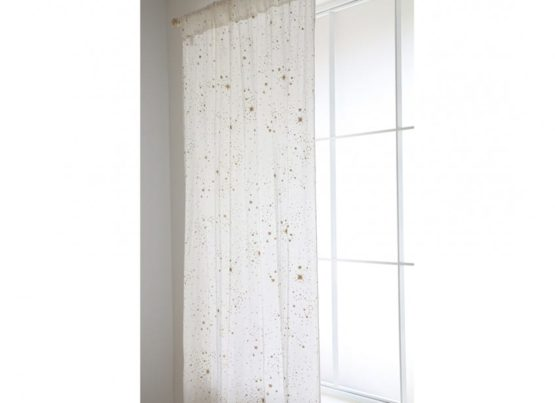 Utopia Curtain Rideau Cortina Gold Stella White Nobodinoz 4