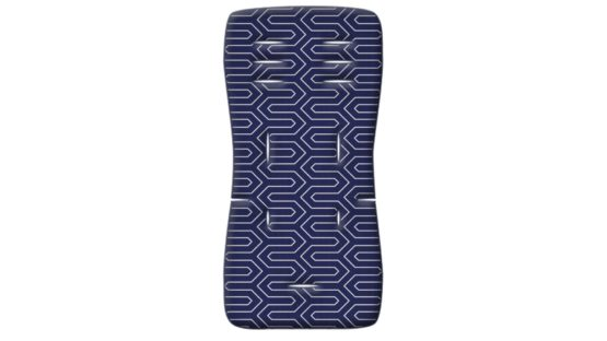 Grecostrom Στρωματάκι Καροτσιού Memory Foam Maze Blue