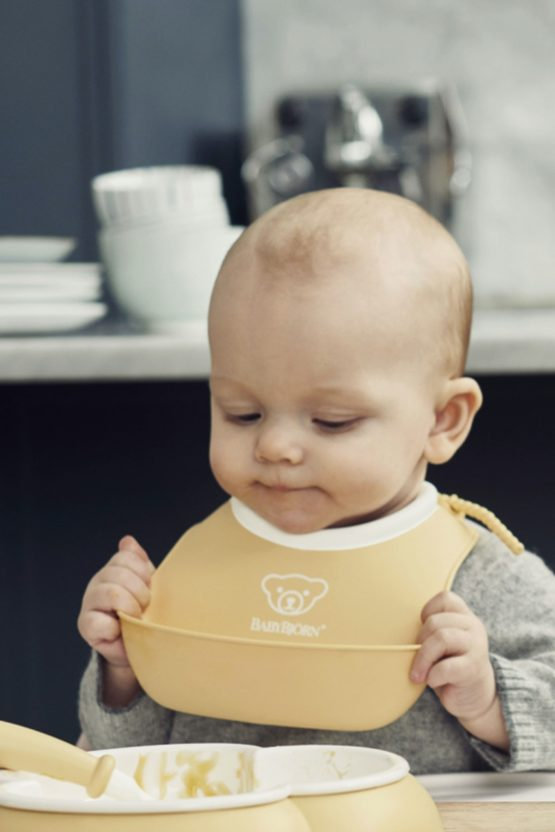 Babybjorn Small Bib Powder Yellow