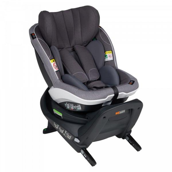 BeSafe iZi Turn i-Size κάθισμα αυτοκινήτου Metallic Melange