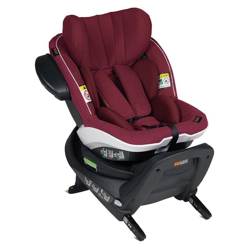 BeSafe iZi Turn i-Size κάθισμα αυτοκινήτου Burgundy Melange