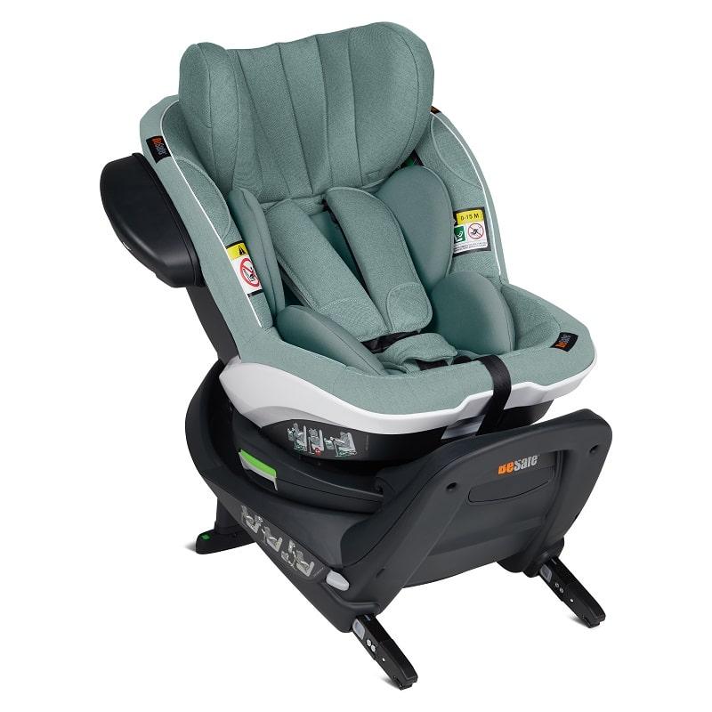 BeSafe iZi Turn i-Size κάθισμα αυτοκινήτου Sea Green Melange