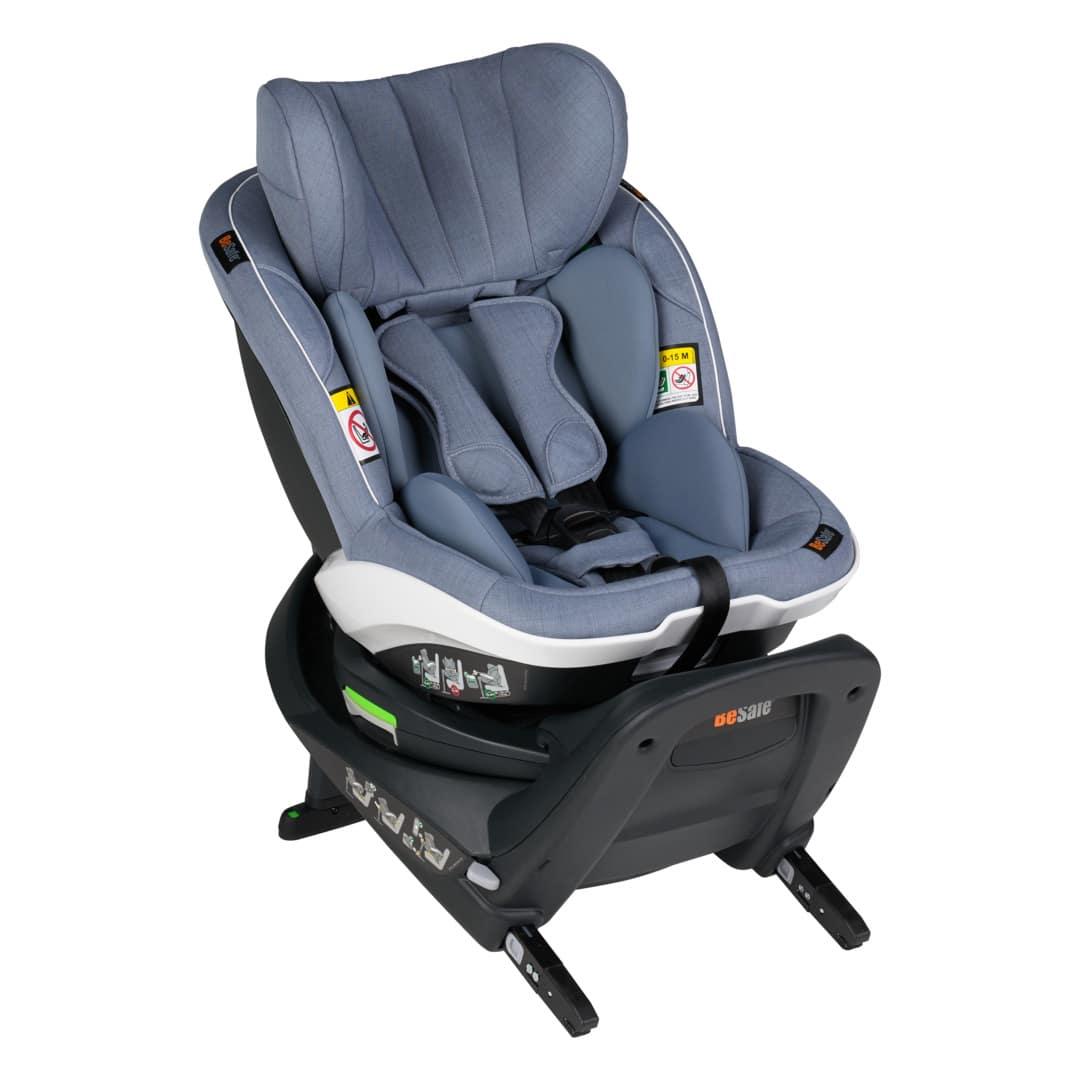BeSafe iZi Turn i-Size κάθισμα αυτοκινήτου Cloud Melange
