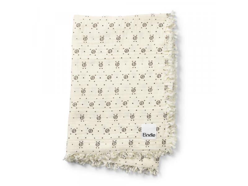 ELODIE DETAILS Κουβέρτα Βαμβακερή Elodie Details Soft Monogram