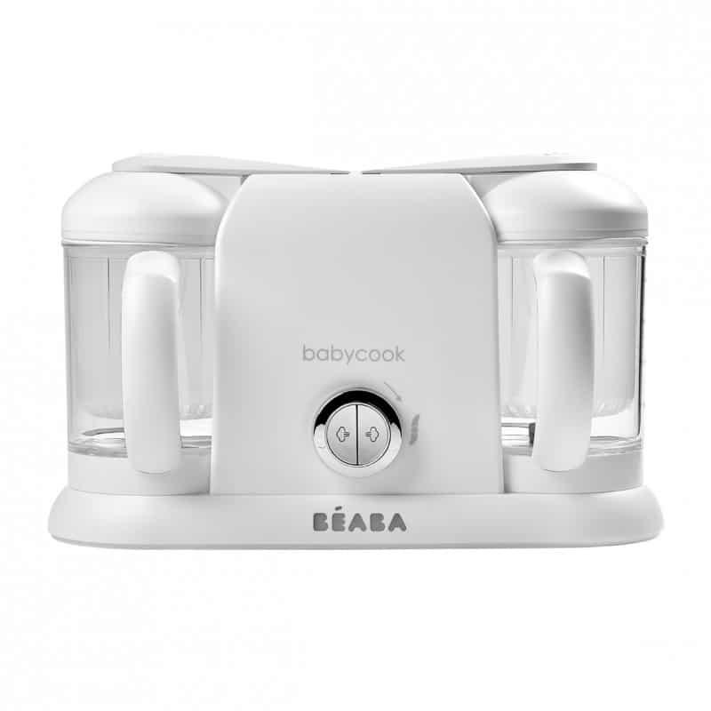 Beaba Ατμομάγειρας Babycook Duo White Silver