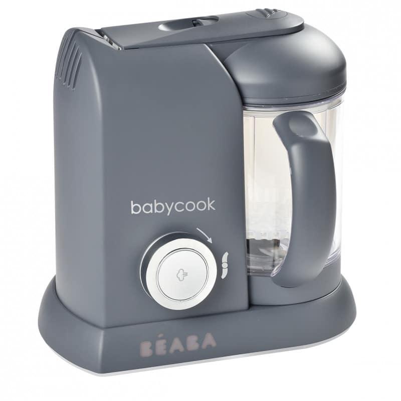 Beaba Ατμομάγειρας Babycook Solo Dark Grey