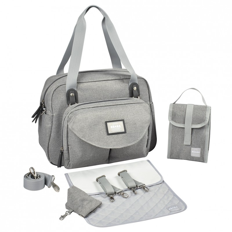 Geneva Ii Changing Bag Heather Grey (1)