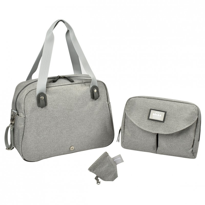Geneva Ii Changing Bag Heather Grey (2)