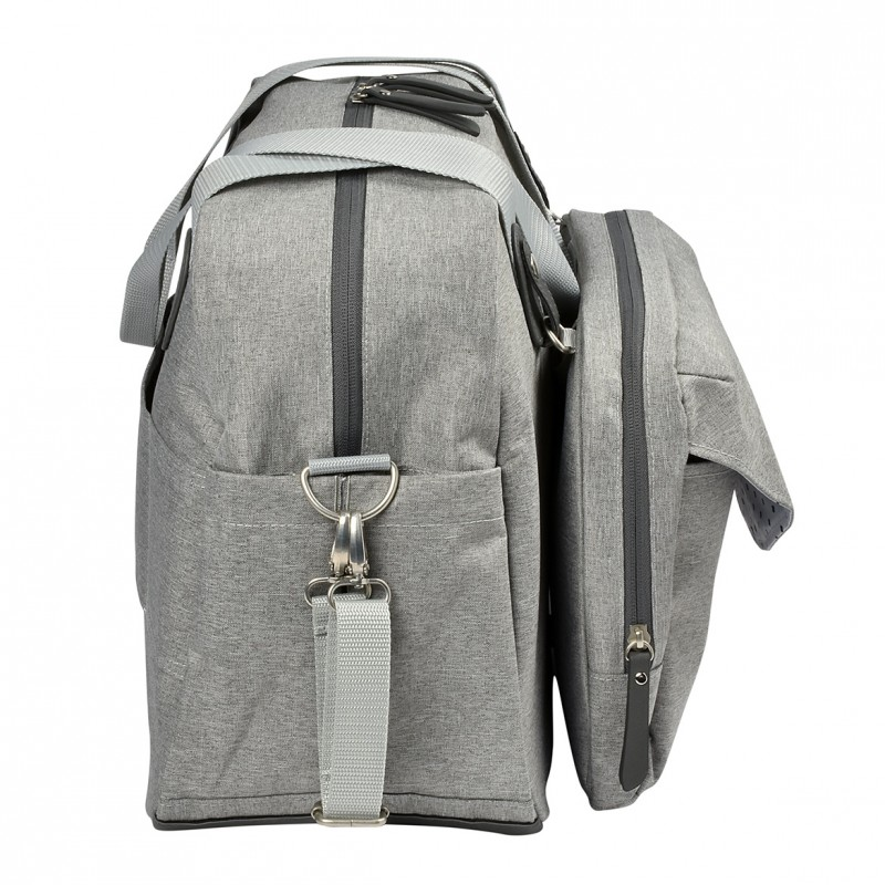 Geneva Ii Changing Bag Heather Grey (4)