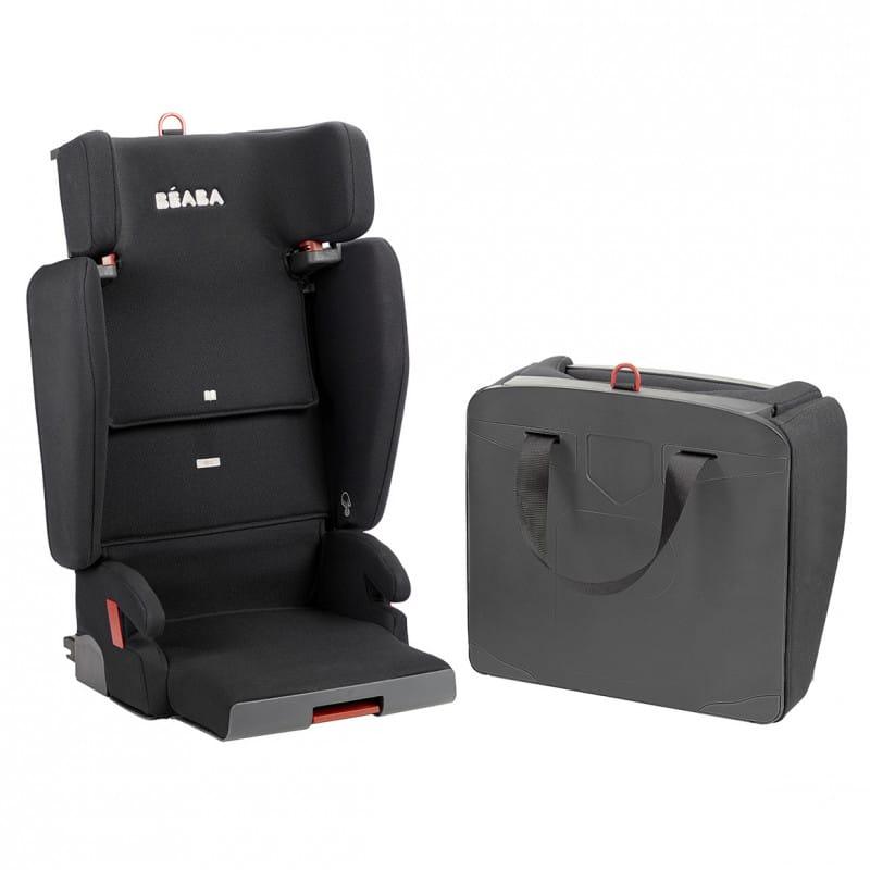 Purseat Fix Group 2 3 Child Car Seat Black (2)
