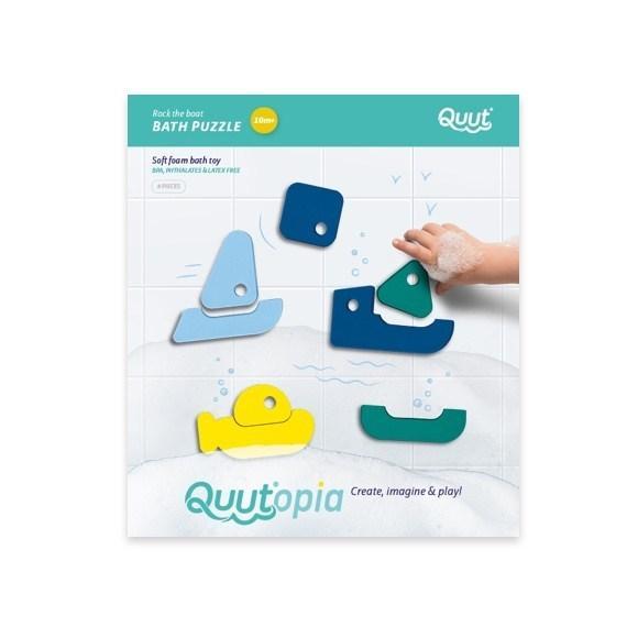QUUT Quutopia. Παιχνίδι μπάνιου – παζλ Βαρκάκια