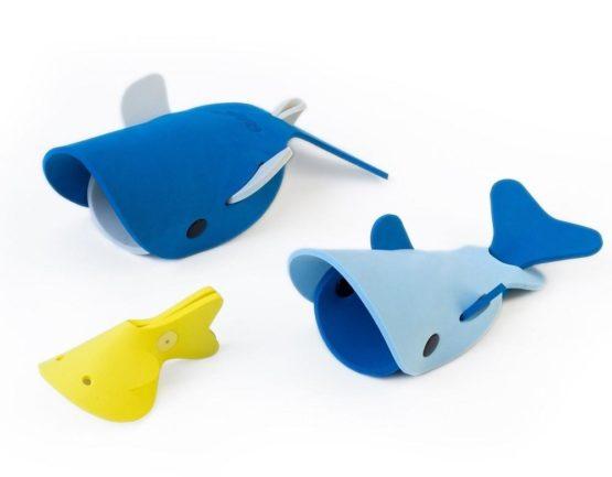 QUUT Quutopia. Παιχνίδι μπάνιου Φάλαινες