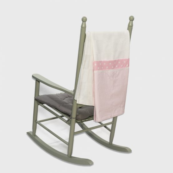 Abo Πικέ κουβέρτα 100*150 Carousel Ροζ