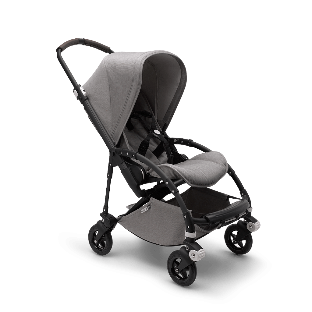 Bugaboo Bee5 Black / MINERAL Light grey Παιδικό Καρότσι