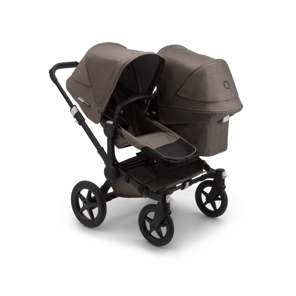 Bugaboo Donkey3  Duo Πολυκαρότσι Mineral BLACK/TAUPE