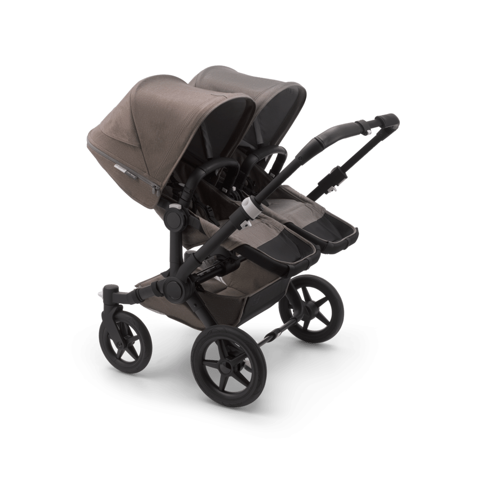Bugaboo Donkey3 Twin Black Mineral Taupe 01