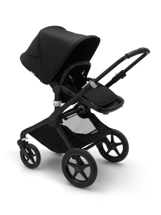 Bugaboo Fox2 Black/Black-Black παιδικό καρότσι