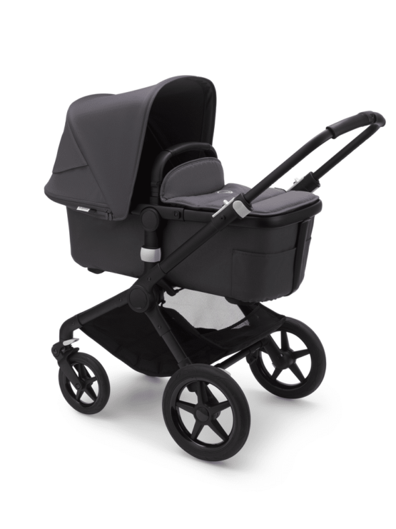 Bugaboo Fox Black Steel Blue Steel Blue 1