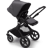 Bugaboo Fox Black Steel Blue Steel Blue
