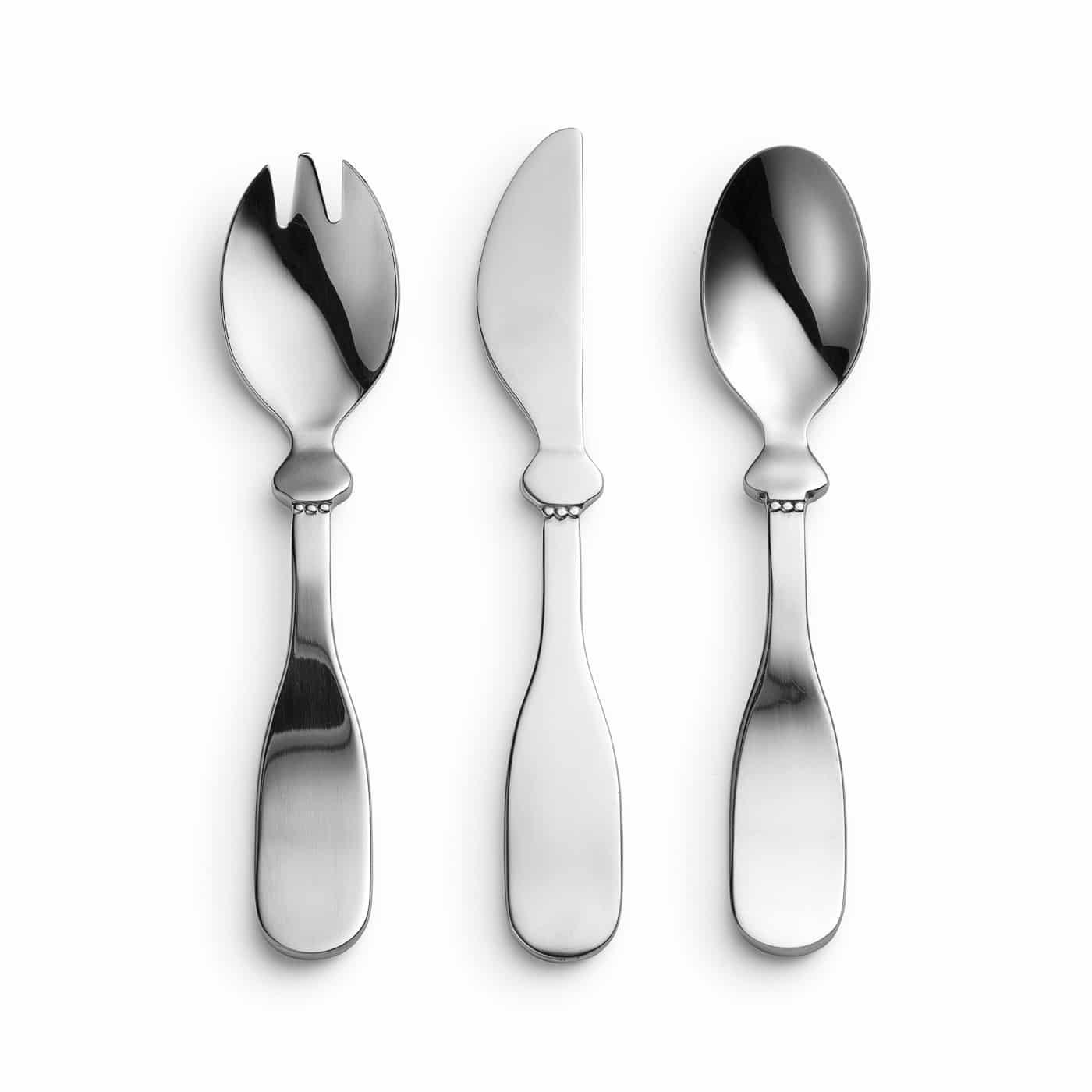 ELODIE DETAILS Σετ Πιρούνι, Μαχαίρι, Κουτάλι Elodie Details (3τμχ) Silver