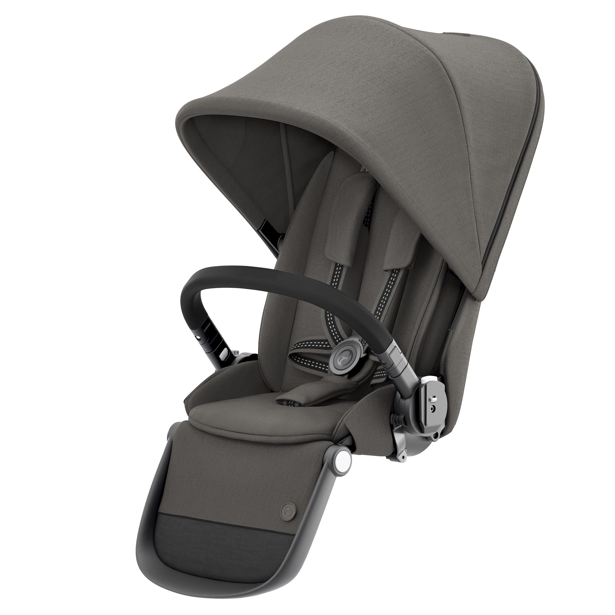 CYBEX Gazelle S Κάθισμα για 2ο παιδί Gazelle S Soho Grey (black frame)