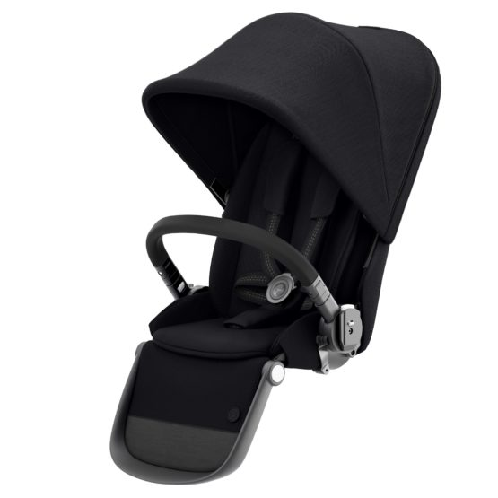 CYBEX Gazelle S Κάθισμα για 2ο παιδί Gazelle S Deep Black (black frame)