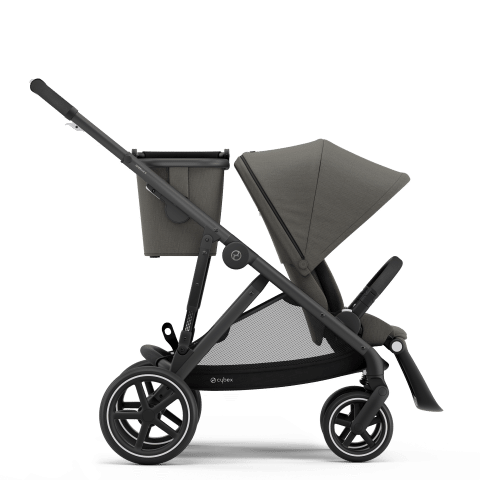 CYBEX Gazelle S Καρότσι Frame Black / Seat Soho Grey