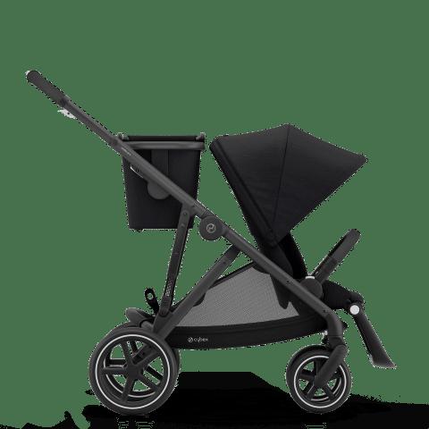 CYBEX Gazelle S Καρότσι Frame Black / Seat Deep Black