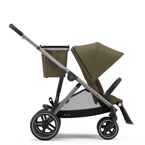 CYBEX Gazelle S Καρότσι Frame Taupe / Seat Classic Beige