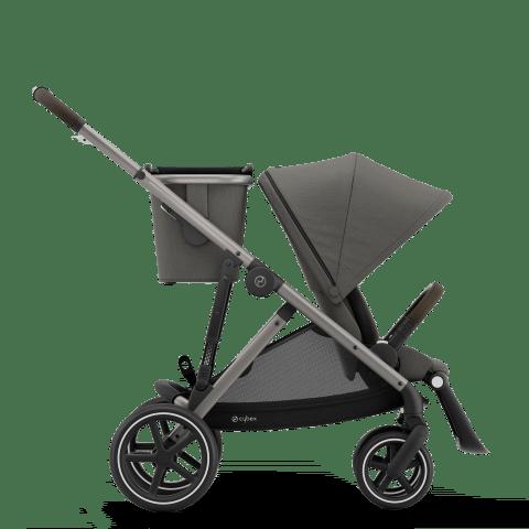 CYBEX Gazelle S Καρότσι Frame Taupe / Seat Soho Grey