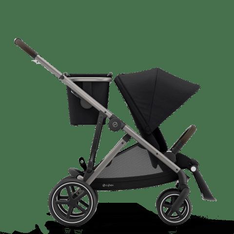 CYBEX Gazelle S Καρότσι Frame Taupe / Seat Deep Black