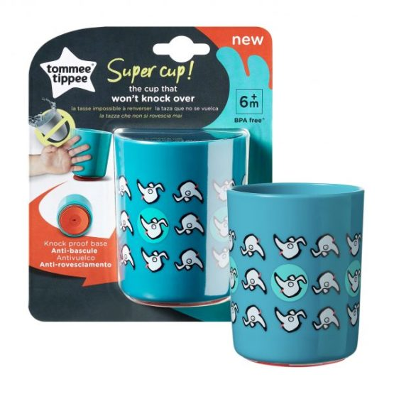 Tommee Tippee super cup 6m+ 190ml Blue