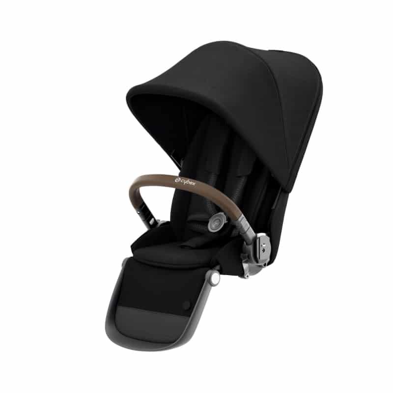 CYBEX Gazelle S Κάθισμα για 2ο παιδί Gazelle S Deep Black (taupe frame)