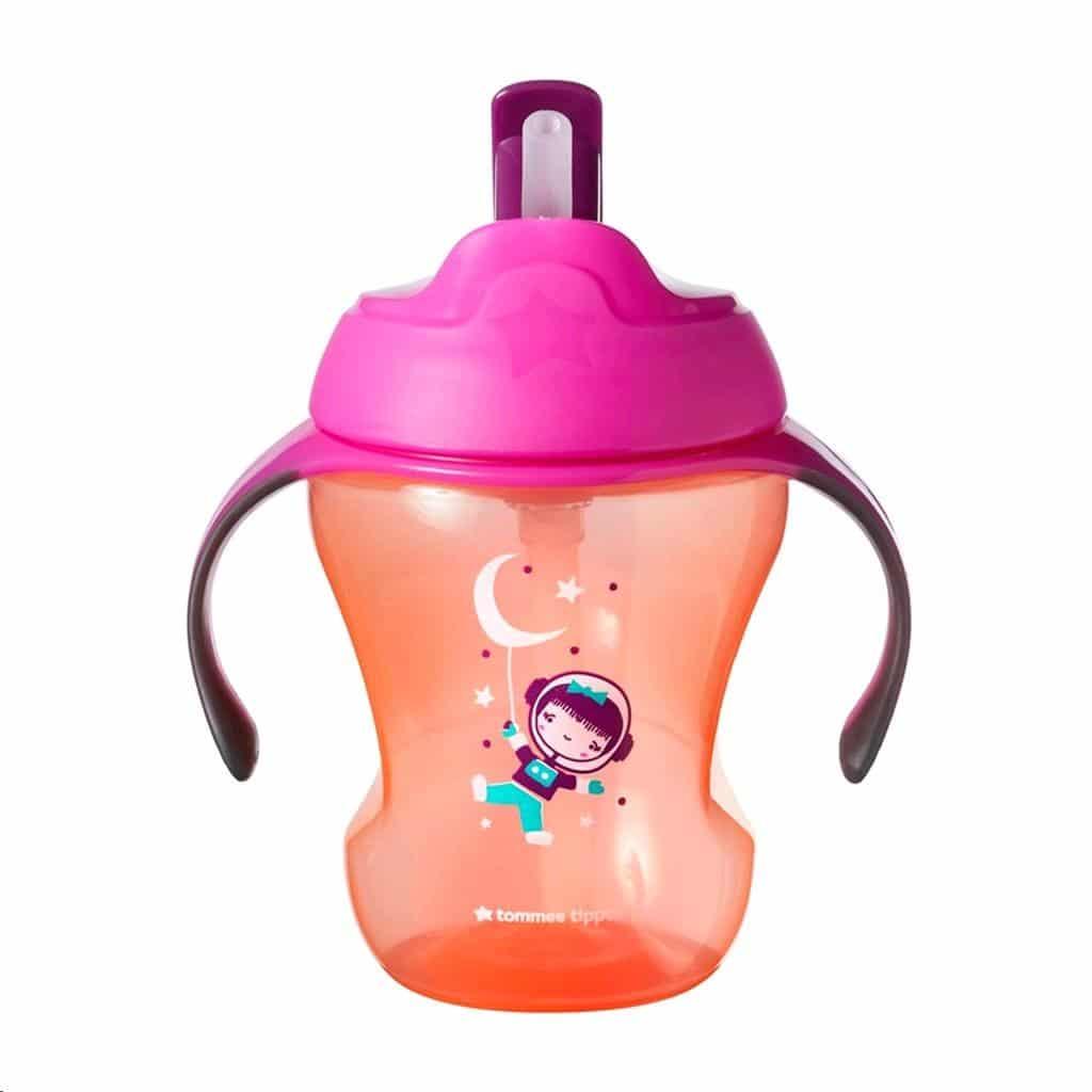 Tommee Tippee Easy Drink Straw 6m+ 230ml Spacegirl
