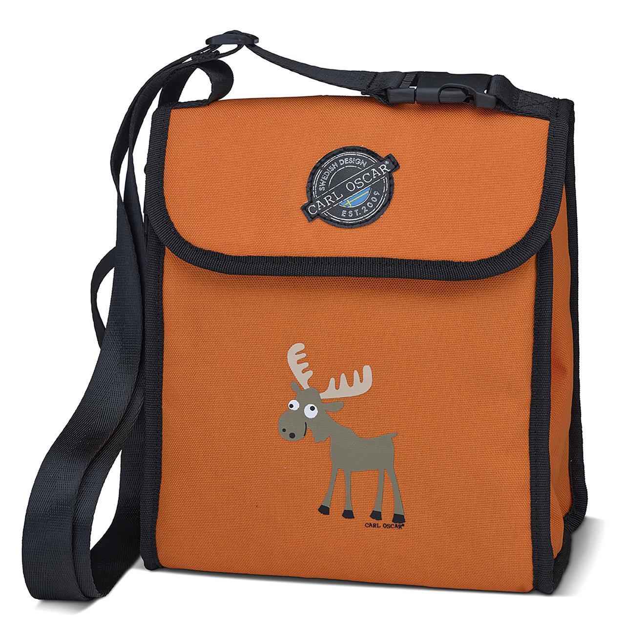 CARL OSCAR Pack n' Snack™ CoolerBag Orange Moose