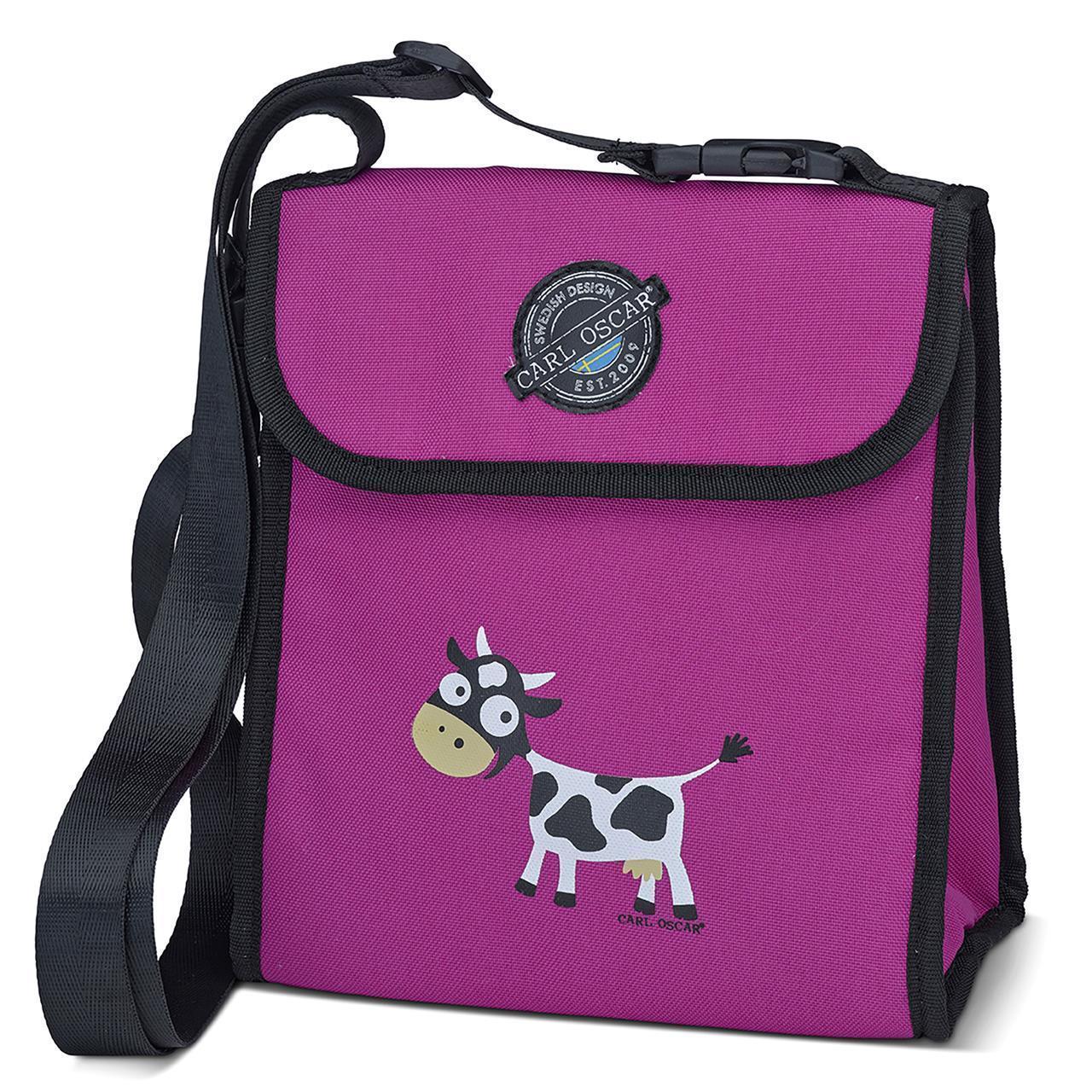 CARL OSCAR Pack n' Snack™ CoolerBag Purple Cow