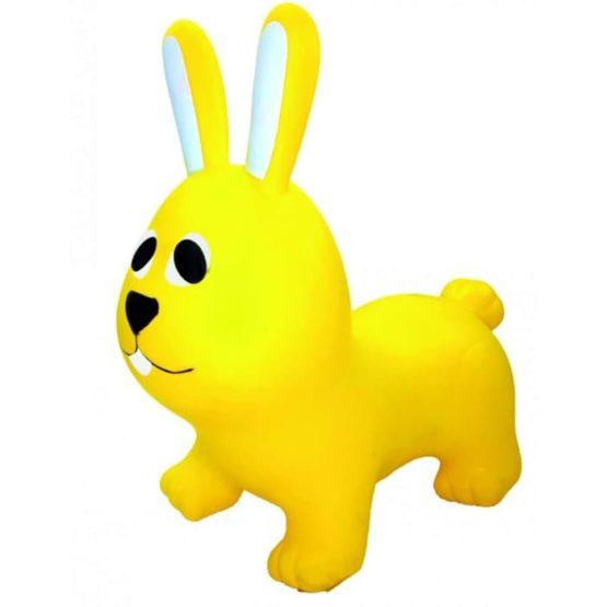 GERARDO'S TOYS. JUMPY Φουσκωτά ζωάκια. Λαγουδάκι κίτρινο