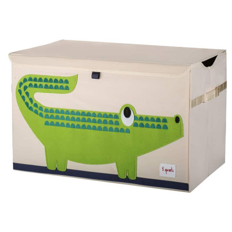 3 Sprouts Κουτί Αποθήκευσης Παιχνιδιών Toy Chest Crocodile