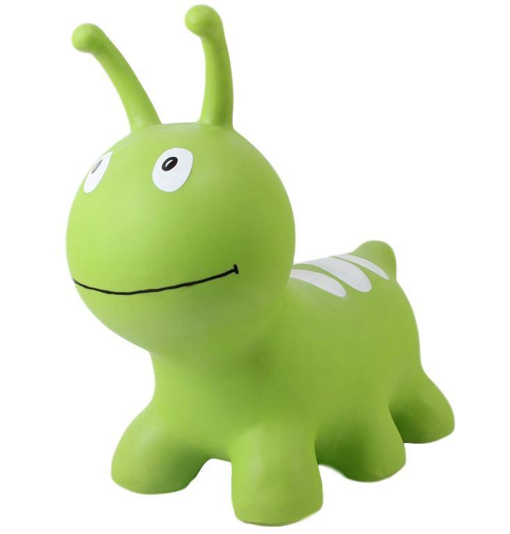 GERARDO'S TOYS. JUMPY Φουσκωτά ζωάκια. Σκουληκάκι πράσινο