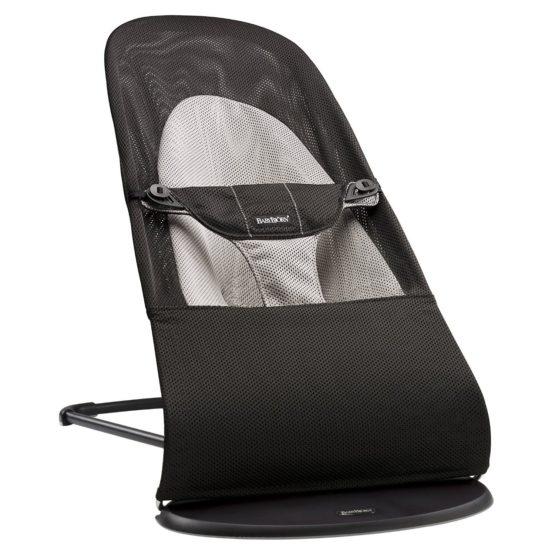BabyBjörn ρηλάξ Balance Soft, Mesh Black/Grey