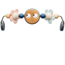 Babybjorn Toy For Bouncer Googly Eyes Pastel 001