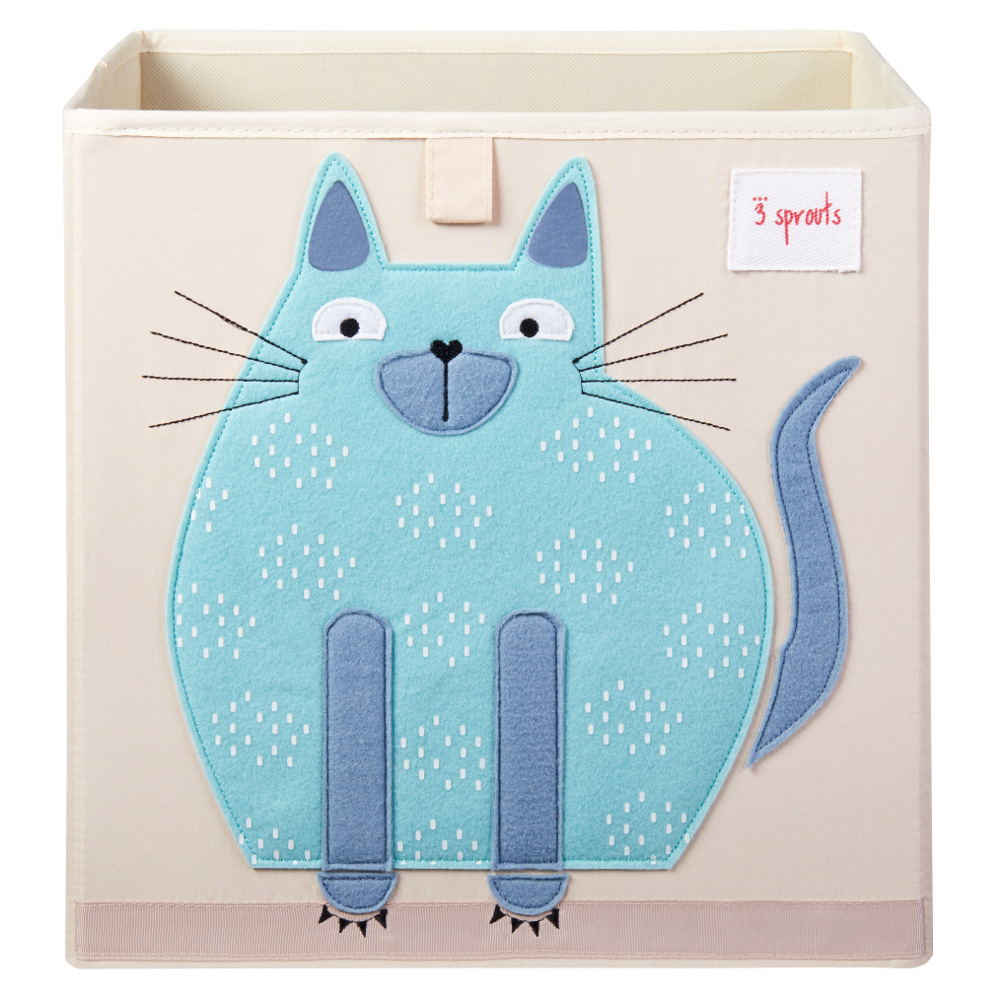 3 Sprouts Κουτί αποθήκευσης παιχνιδιών Storage Box Cat