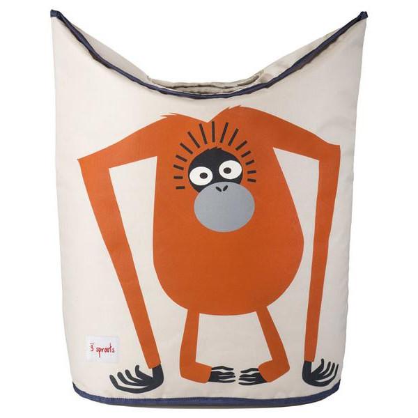 3 Sprouts Καλάθι για άπλυτα & για παιχνίδια Laundry Hamper Orangutan