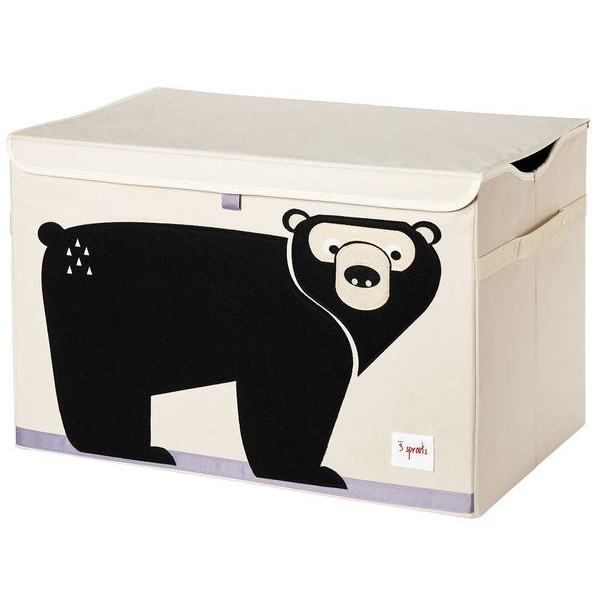 3 Sprouts Κουτί Αποθήκευσης Παιχνιδιών Toy Chest Bear