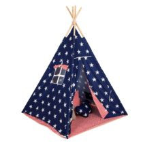 0049311 Baby Adventure Tepee Stars Stripes