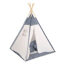 0049314 Baby Adventure Tepee Blue Wave