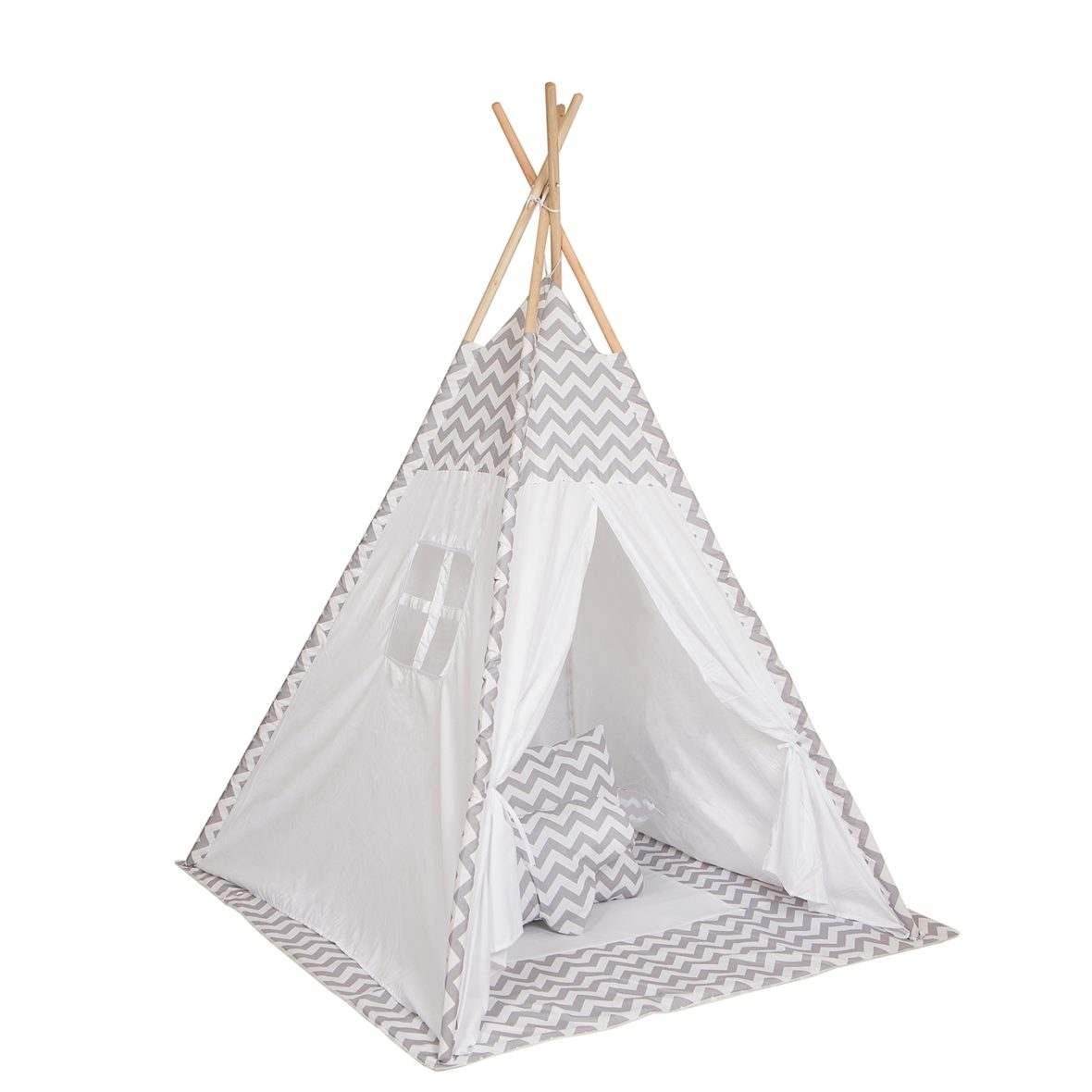 BABY ADVENTURE Σκηνή Baby Adventure Teepee Grey Wave