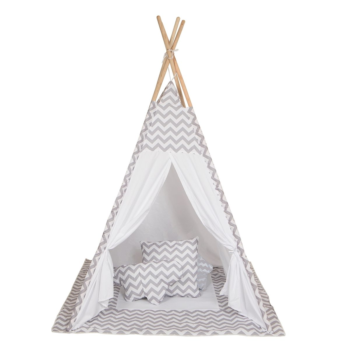0052616 Baby Adventure Tepee Grey Wave