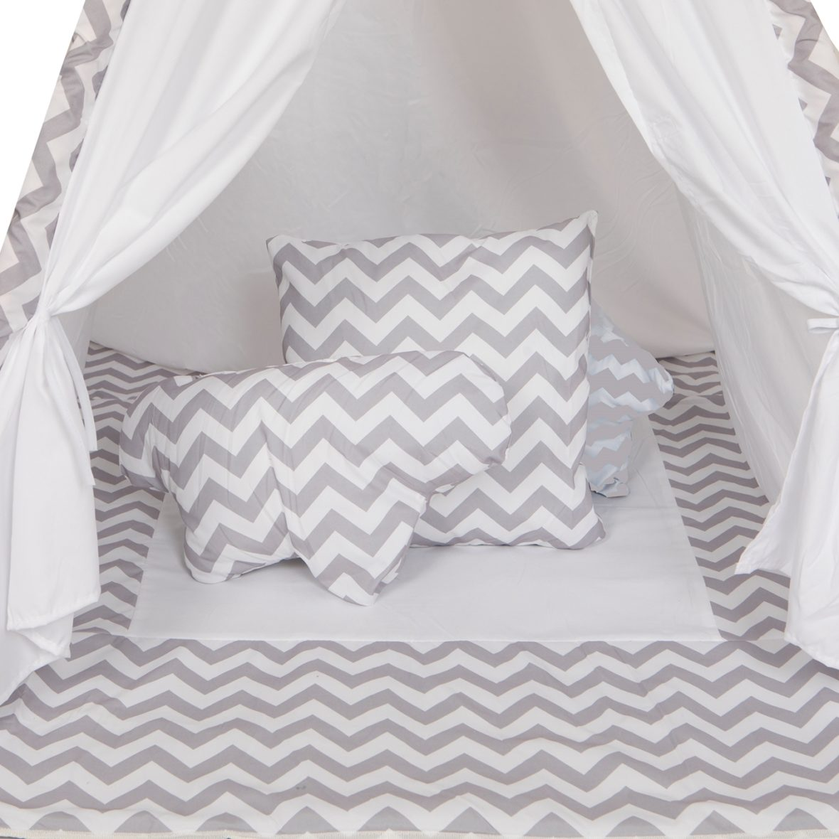 0052617 Baby Adventure Tepee Grey Wave
