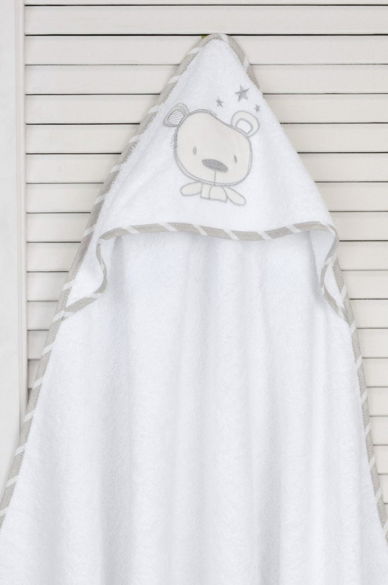 Baby Oliver Μπουρνούζι τρίγωνο Sweet Teddy Des.350